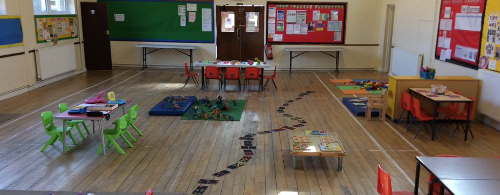 Picture of Holy Trinity Playgroup and Pre-school Nursery main room